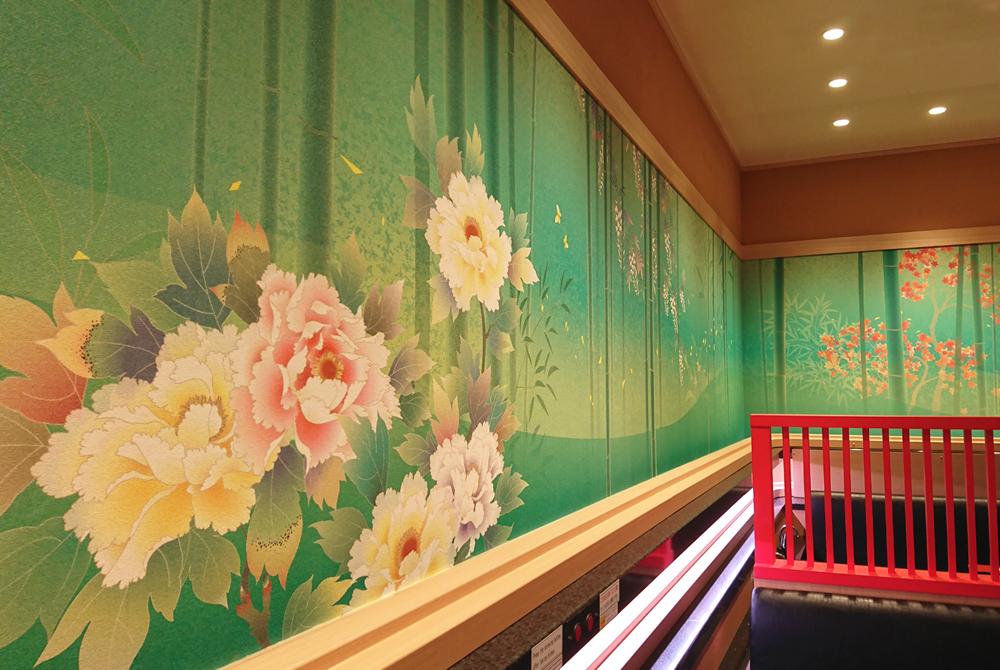 金沢まいもん寿司様 デジタルプリント壁紙事例